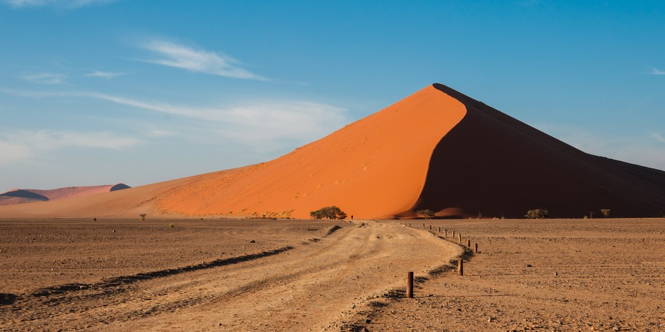 Dunes de Sossusvlei en Namibie