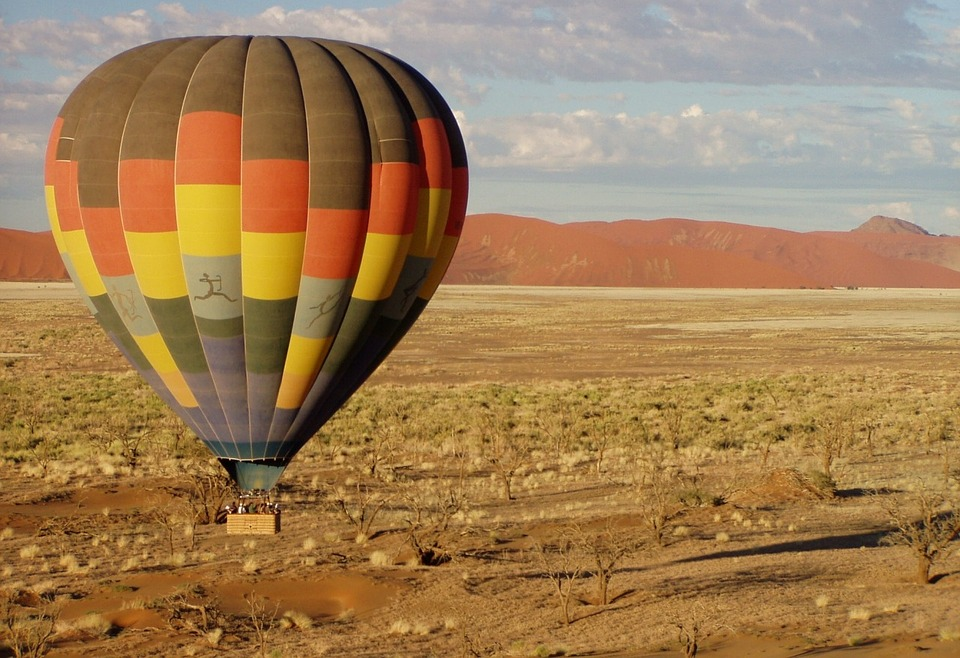 Montgolfière-Namibie