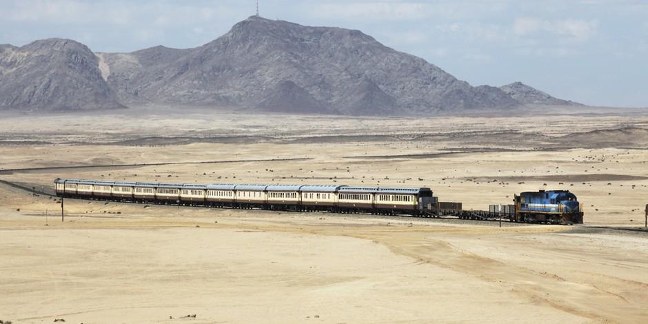 Train African Explorer vers Swakopmund