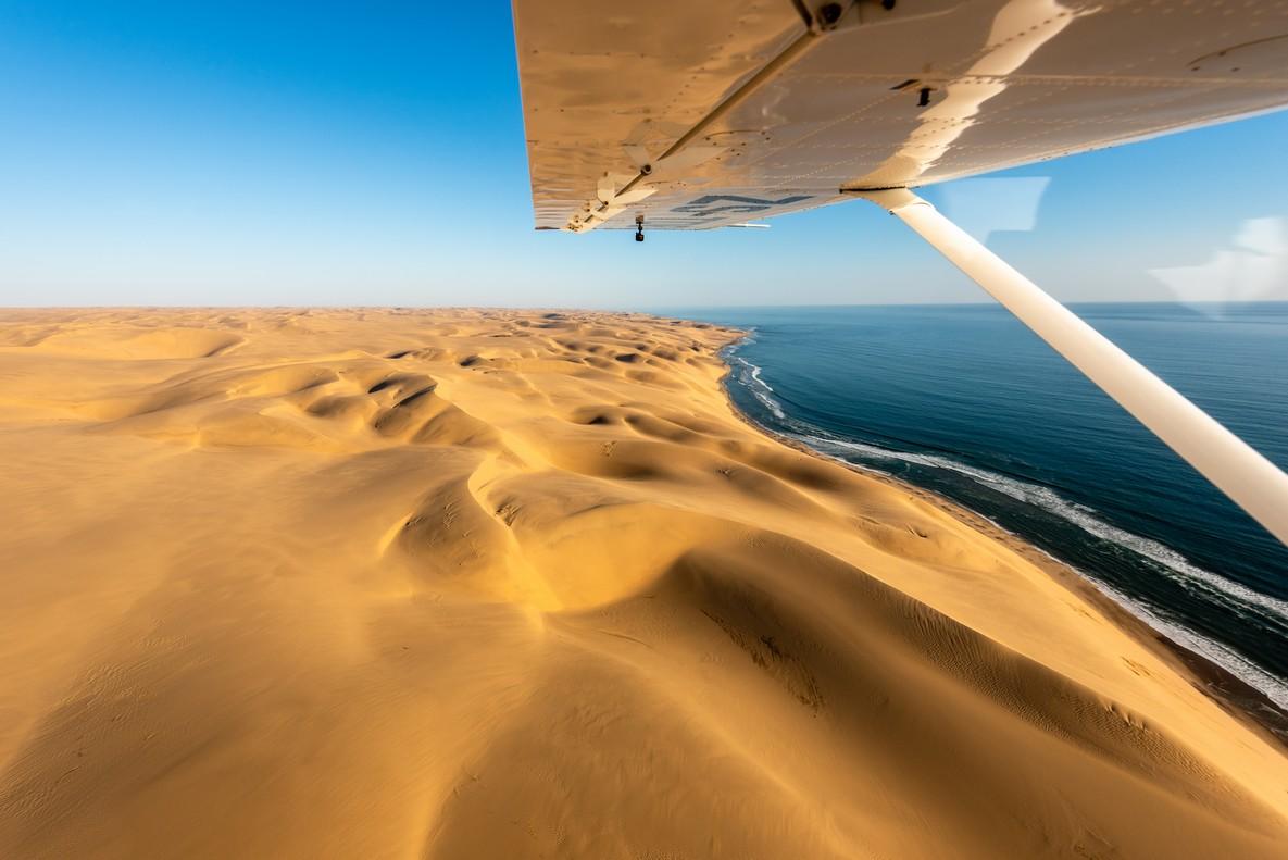 La Namibie en avion-taxi